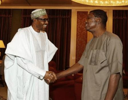 NEWS:: President Buhari Celebrates Pastor Adeboye On His 76th Birthday