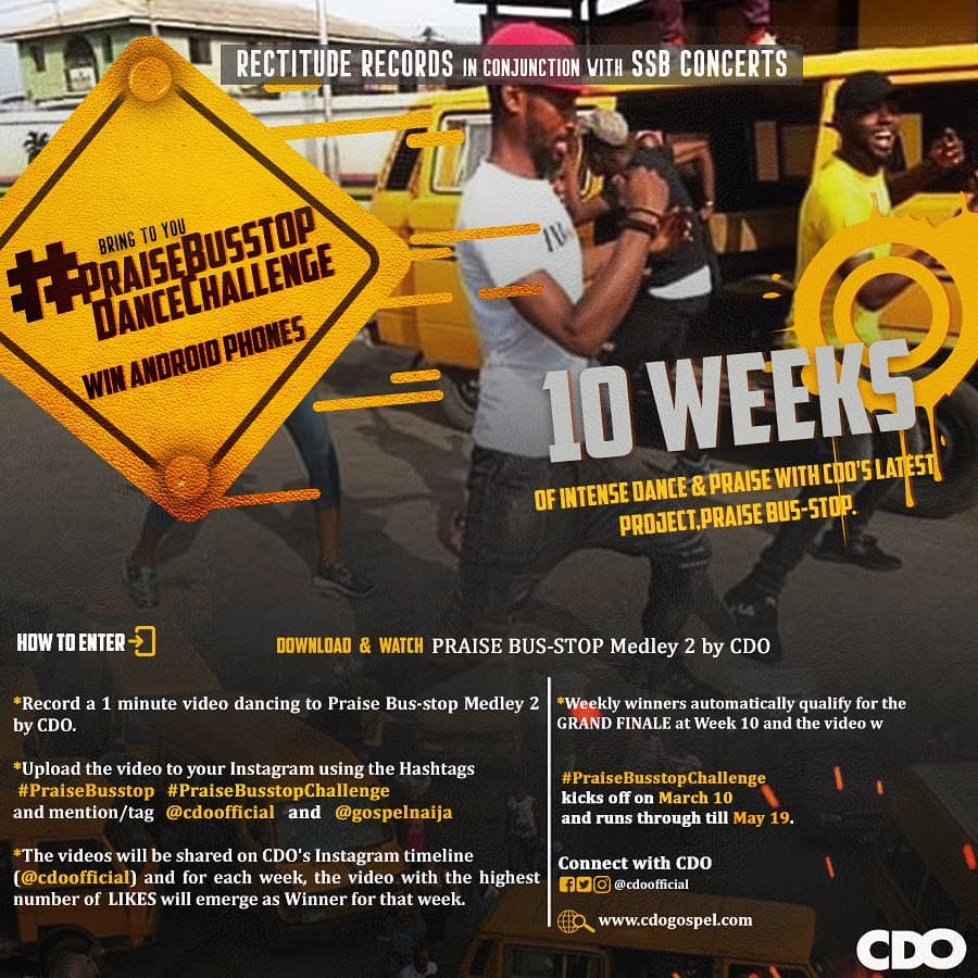 Rectitude Records Praise Busstop Dance Challenge